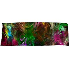 Fractal Texture Abstract Messy Light Color Swirl Bright Body Pillow Case Dakimakura (Two Sides)