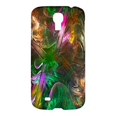 Fractal Texture Abstract Messy Light Color Swirl Bright Samsung Galaxy S4 I9500/i9505 Hardshell Case