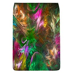 Fractal Texture Abstract Messy Light Color Swirl Bright Flap Covers (l)