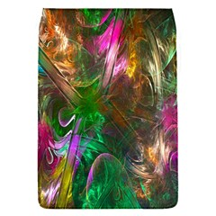 Fractal Texture Abstract Messy Light Color Swirl Bright Flap Covers (S)