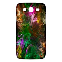 Fractal Texture Abstract Messy Light Color Swirl Bright Samsung Galaxy Mega 5.8 I9152 Hardshell Case