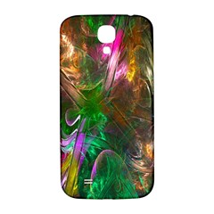 Fractal Texture Abstract Messy Light Color Swirl Bright Samsung Galaxy S4 I9500/I9505  Hardshell Back Case