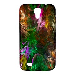 Fractal Texture Abstract Messy Light Color Swirl Bright Samsung Galaxy Mega 6.3  I9200 Hardshell Case