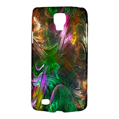 Fractal Texture Abstract Messy Light Color Swirl Bright Galaxy S4 Active