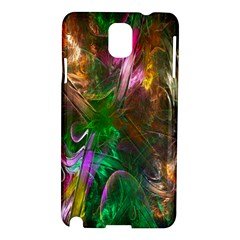 Fractal Texture Abstract Messy Light Color Swirl Bright Samsung Galaxy Note 3 N9005 Hardshell Case