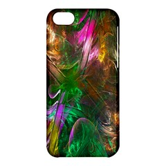 Fractal Texture Abstract Messy Light Color Swirl Bright Apple iPhone 5C Hardshell Case