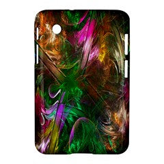 Fractal Texture Abstract Messy Light Color Swirl Bright Samsung Galaxy Tab 2 (7 ) P3100 Hardshell Case