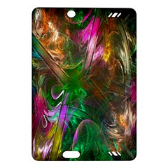 Fractal Texture Abstract Messy Light Color Swirl Bright Amazon Kindle Fire HD (2013) Hardshell Case