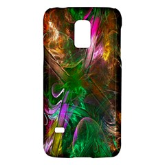 Fractal Texture Abstract Messy Light Color Swirl Bright Galaxy S5 Mini