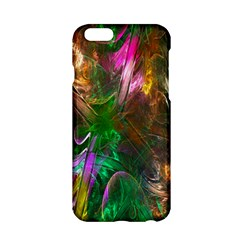 Fractal Texture Abstract Messy Light Color Swirl Bright Apple Iphone 6/6s Hardshell Case