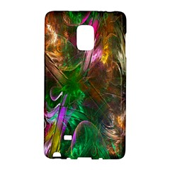 Fractal Texture Abstract Messy Light Color Swirl Bright Galaxy Note Edge