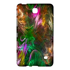 Fractal Texture Abstract Messy Light Color Swirl Bright Samsung Galaxy Tab 4 (8 ) Hardshell Case
