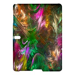 Fractal Texture Abstract Messy Light Color Swirl Bright Samsung Galaxy Tab S (10.5 ) Hardshell Case