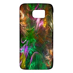 Fractal Texture Abstract Messy Light Color Swirl Bright Galaxy S6