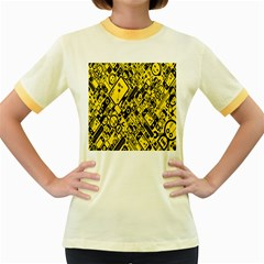 Test Steven Levy Women s Fitted Ringer T Shirts
