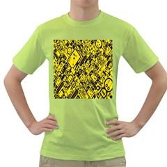 Test Steven Levy Green T-Shirt