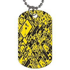 Test Steven Levy Dog Tag (One Side)
