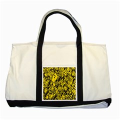 Test Steven Levy Two Tone Tote Bag