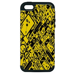 Test Steven Levy Apple Iphone 5 Hardshell Case (pc+silicone)