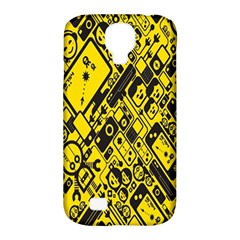 Test Steven Levy Samsung Galaxy S4 Classic Hardshell Case (PC+Silicone)