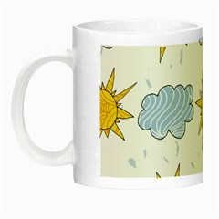 Sunshine Tech White Night Luminous Mugs