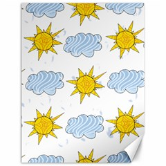 Sunshine Tech White Canvas 12  x 16