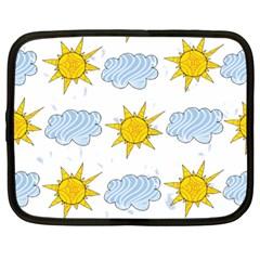 Sunshine Tech White Netbook Case (Large)