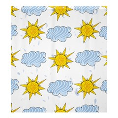 Sunshine Tech White Shower Curtain 66  x 72  (Large)