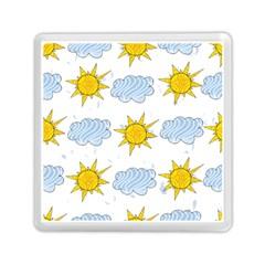 Sunshine Tech White Memory Card Reader (square)
