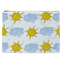 Sunshine Tech White Cosmetic Bag (XXL)