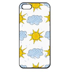 Sunshine Tech White Apple iPhone 5 Seamless Case (Black)