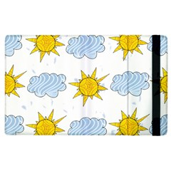 Sunshine Tech White Apple Ipad 2 Flip Case