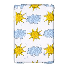 Sunshine Tech White Apple iPad Mini Hardshell Case (Compatible with Smart Cover)