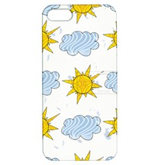 Sunshine Tech White Apple iPhone 5 Hardshell Case with Stand