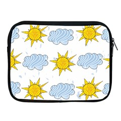 Sunshine Tech White Apple iPad 2/3/4 Zipper Cases