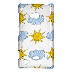 Sunshine Tech White Nokia Lumia 720