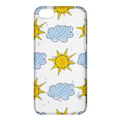 Sunshine Tech White Apple iPhone 5C Hardshell Case