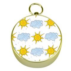 Sunshine Tech White Gold Compasses