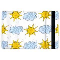 Sunshine Tech White iPad Air Flip