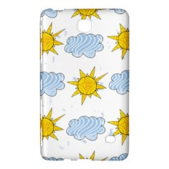 Sunshine Tech White Samsung Galaxy Tab 4 (7 ) Hardshell Case