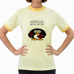 Cupid Algorithm Women s Fitted Ringer T Shirts