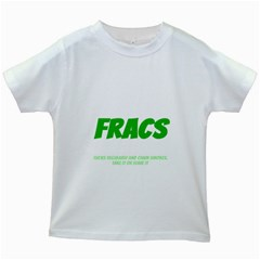 Fracs Kids White T-Shirts