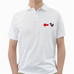 Hes A Cock Golf Shirts