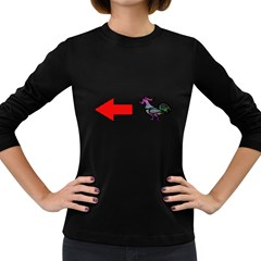 Hes A Cock Women s Long Sleeve Dark T-Shirts