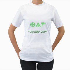 Oap Women s T Shirt (white)