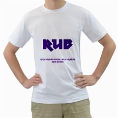 Rub Men s T-Shirt (White)