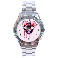 BDSM Love Stainless Steel Analogue Watch
