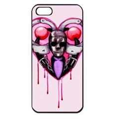 BDSM Love Apple iPhone 5 Seamless Case (Black)
