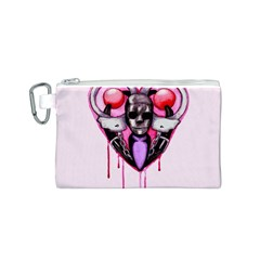 BDSM Love Canvas Cosmetic Bag (S)