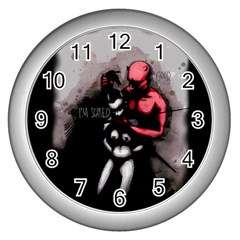 Bescaredduv Wall Clocks (Silver)